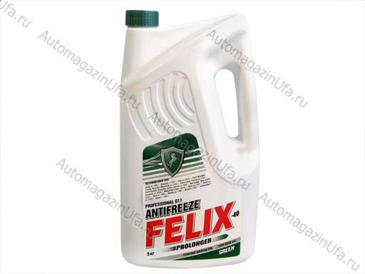 Антифриз FELIX Prolonger G11/40 5кг зелёный