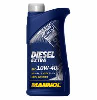 Масло моторное MANNOL Diesel Extra SAE 10W40 п/синтетика (1л)